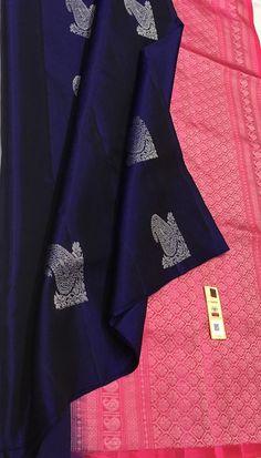 Indian Bridal Sarees, Wedding Silk Saree, Indian Silk Sarees, Soft Silk Sarees, Crepe Saree, Saree Jacket Designs, Saree Kuchu Designs, Silk Saree Blouse Designs, Chiffon Saree Party Wear
