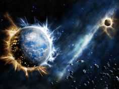 images of the destruction of stars in in outer space - Google Search