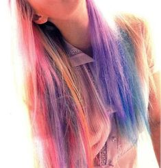 candy-colored hair--love it!