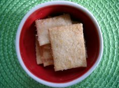 Easy snack for the entire class: Homemade Wheat Thins
