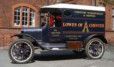 A 1922 Ford Model T van, registration number PS4084. The Model T was launched in 1908 and production ceased in 1927. This rare 1922 right hand drive Model T van was restored some years ago, prior to being put into dry storage approximately eight years ago #ukauctioneers