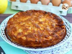 Tarte aux pommes (simple et facile), Photo 1 - ikeda - cake . Food Cakes, Cake Videos, Food Videos, Apple Cake Recipes, Dessert Recipes, Easy Bread, Tapas, Food And Drink, Cooking Recipes