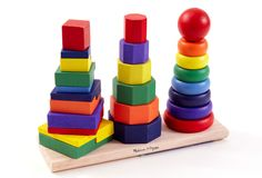 Geometric Stacker Toy on One Kings Lane today