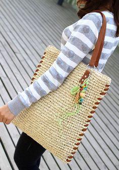 Bolso de ganchillo   -   Crochet bag                              …