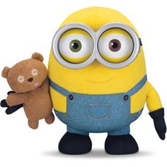 Minion Bob with Teddy Bear