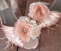 Blush Wedding Shoes Blush Wedding Blush by EllieWrenWeddingShoe