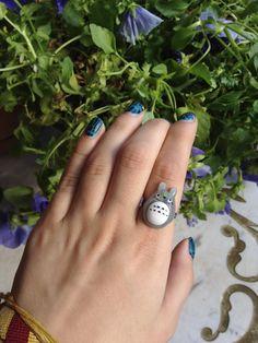 Cute Totoro ring, $6.50