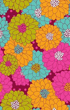 Wonderful Gift Wrap's Floralism Pattern Designed by Oh Joy! www.wonderfulgiftwrap.com