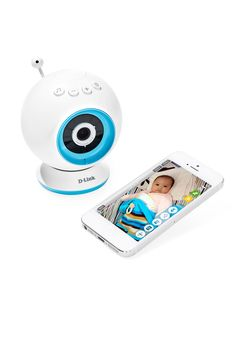 This video monitor lets you check up on babies with your tablet or smartphone any place there's a Wi-Fi, 3G, or 4G connection.