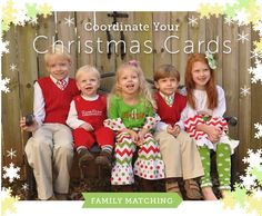 I'm already thinking Christmas Cards and www.lollywollydoodle.com makes it easy!  Family matching clothing for your girls, boys & even moms and dads!  #lollywollydoodle #familymatching #Christmascard