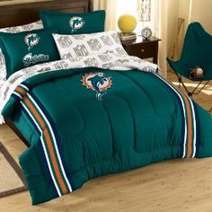 Miami Dolphins Bedding Set