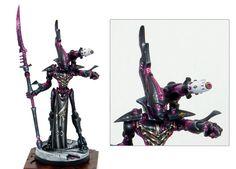 40k - Wraithseer (Golden Demon winner)