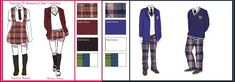 Gakuen Hetalia Uniforms: Europe/N.America by Literary-Git.deviantart.com on @deviantART