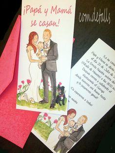Esto debió pensar Rubén el pasado 20 de julio, cuando asistió a la boda de sus padres Raúl y Raquel, y eso mismo decía en las invitacione...
