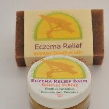 Eczema Relief Combo Bar & Balm Package 20% OFF!