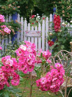 .garden gate pantings
