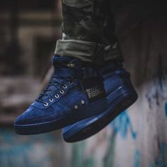 buy online 68101 5e1b3 Nike SF Air Force 1 Mid Sneakers Obsidian Size 7 8 9 10 11 12 Mens