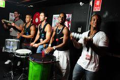 Brazilian Drummers, Sydney Australia. Smirnoff Nightlife Exchange Project Event.