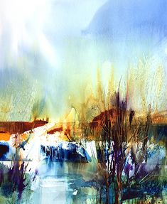 Watercolor art by Joe Cibere is located just north of Los Angeles. Various subjects include landscapes, cityscapes, seascapes, skys and flowers.