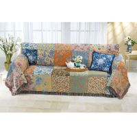 Vintage Patchwork Love Seat Cover
