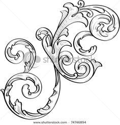 baroque acanthus