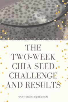 Chia Seeds are really good for you, but will they make you lose weight? A group took on the 2 week chia seed challenge to find out. Check out their results! Weight Loss Challenge, Weight Loss Tips, Lose Weight, Chia Gel, Chia Seed Breakfast, Vanilla Recipes, No Carb Diets, Chia Seeds, Healthy Life