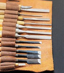 My wood carving tools