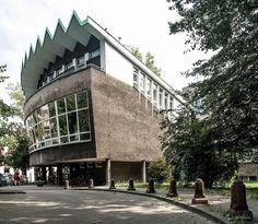 Orthopedic-Rehabilitation Clinical Hospital, (Ortopedyczno - Rehabilitacyjny Szpital Kliniczny) Poznań, Poland, built in 1963-70 architect: Waldemar Preis, Maria Waschko