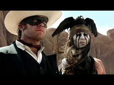 The Lone Ranger Trailer 2013 Johnny Depp Movie - Official [HD]