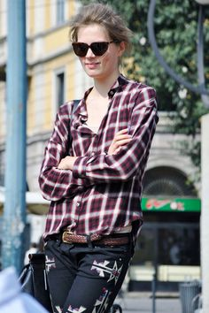 awesome plaid shirt is always welcomed to my closet