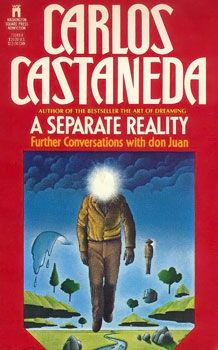 A Separate Reality by Carlos Castaneda, In The Teachings of Don Juan Castaneda published the account of his five-year apprenticeship to the Yaqui Indian sorcerer-shaman Don Juan. Carlos Castaneda, Good Books, Books To Read, Don Juan, Images Google, Book Cover Art, Book Images, Classic Books, Love Book