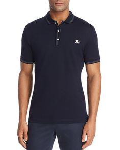Burberry Kenforth Mercerized Pique Polo Shirt Pique Polo Shirt, Tailored Suits, Club Style, Burberry Men, Hugo Boss, Casual Outfits, Polo Ralph Lauren, Shirt Men, Mens Tops