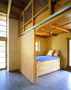 Mazama home sleeping area