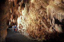 Shenandoah Caverns in the Shenandoah Valley - VA