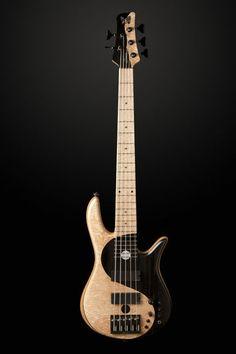Fodera Victor Wooten Yin Yang 5 String Bass Guitar