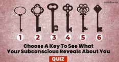 Key Personality Test: Choose A Key To See What Your Subconscious Reveals About You Zodiac Sign Test, Zodiac Signs, Loyal Person, Zodiac Love Compatibility, Priorities List, Subconscious Mind, Inspire Others, Love People, Understanding Yourself
