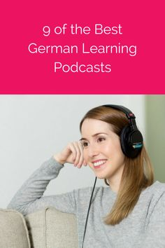 9 of the Best Podcasts for Learning German best german learning podcasts Want to Learn German? These Podcasts Are a Awesome German Podcasts to Accelerate Your…Free German courses from Deutsche Welle. German Language Learning, Language Study, Learn A New Language, Foreign Language, Study German, Learn German, Learn French, German Grammar, German Words