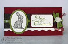 Stampin' UP! by First Hand Emotion: IN{K}SPIRE_me Challenge #088: Oster Special, Ostergruss, Cocolate Bunny