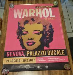 manifesto Warhol la grande mostra
