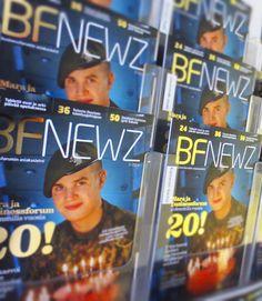 MARKKINOINTIVIESTINTÄ / ASIAKASLEHTI Olin mukana kehittämässä ja suunnittelemassa Businessforumin asiakaslehteä, joka reilulla 30 000 levikillään oli yksi alansa suurimmista julkaisuista. Roolini BF Newz lehdessä oli ilmoitusten taitto ja toteutus sekä niiden koordinointi. Vastasin myös lehden painotuotannosta ja jakelukanavista. Toimitin lehdessä myös yhtä palstaa sisällöntuottajana. Lehti julkaistiin myös digitaalisesti.