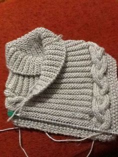 Use This Free Neck Warmer Knitting Patte - Diy Crafts - Marecipe Knitting Stitches, Knitting Patterns Free, Knit Patterns, Free Knitting, Baby Knitting, Diy Crafts Knitting, Diy Crochet, Knitted Hats, Sewing
