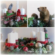 Wianki adwentowe by Sempre La Perfezione cz. Advent, Table Decorations, Christmas Ornaments, Holiday Decor, Home Decor, Decoration Home, Room Decor, Christmas Jewelry, Christmas Decorations
