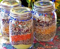 Good Luck Soup In A Jar Recipe - Food.com - 201351