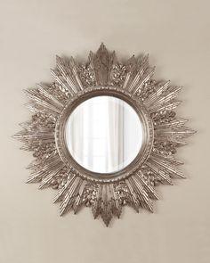 """Зеркало в раме """"Кимберли Серебро"""""""