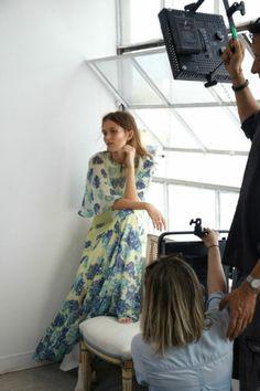 Cassondra Round-Neck Top Tier Dress x Behind the Scenes x Guest of the Wedding - #BCBGMAXAZRIA