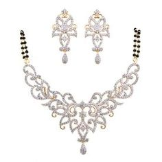 Buy American Diamond MangalSutra Set D103 online