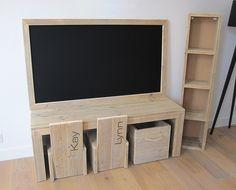 Kinderspeelhoek w00ty   Steigerhout   Te koop bij w00tdesign   by w00tdesign   Meubels van steigerhout