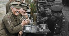 A scene from 'They Shall Not Grow Old', showing how film director Peter Jackson digitally remastered footage of the First World War. (Photo courtesy of THEY SHALL NOT GROW OLD/ WingNut Films/ Peter Jackson. Original black and white film © IWM) World War One, First World, Commonwealth, Hd Movies, Movie Tv, Jackson, Secret Life Of Pets, Latest Movies, Vintage Photographs