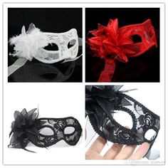 Buy Cheap Party Masks For Big Save, Halloween Masks Womens Lace Eye Mask Gorgeous Masquerade Mask Party Mask Flower Venetian Half Face Domino Masks Mysterious Princess Hm58 Online At A Discount Price From Convoy︱dhgate.Com