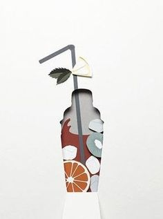 Super Ideas for book art collage negative space 3d Paper Art, Paper Artwork, Diy Paper, Paper Crafts, Paper Cut Out Art, Foam Crafts, Kirigami, Paper Design, Design Art
